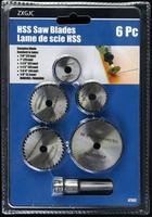 HSS白鐵切割鋸片 6PS 金屬切割片 木工鋸片 丸鋸片 萬用鋸片組 快速切片 非鑽石切片