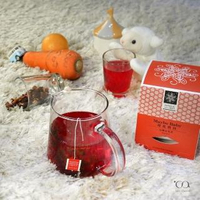 【samova 歐洲時尚茶飲】有機水果茶/無咖啡因/甜菜根成分/Maybe Baby 莓比寶貝(Space系列)