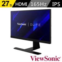 【ViewSonic 優派】XG270Q 27型 IPS 2K電競顯示器(16:9/IPS/165Hz/HDMI/含喇叭)