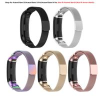 適用於 Huawei Band 3 / Band 3 pro / Band 4 pro 不銹鋼錶帶更換配件 (不適用於