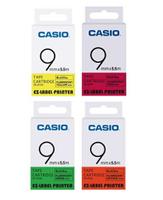 CASIO 標籤機專用螢光色9mm 色帶 /個 XR-9FYW XR-9FGN XR-9FOE XR-9FPK