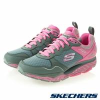 SKECHERS 女鞋 健走鞋 SRR PRO RESISTANCE 足底筋膜炎舒緩 88888338CCPK灰粉 [陽光樂活] (C4)