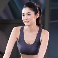 【華歌爾】輕運動機能T型運動M-3L 運動內衣(競技灰)