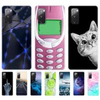 "For Samsung Galaxy S20 FE Case 6.5"" Tpu Soft Silicon Back Phone Cover For Samsung S20 fe Bumper GalaxyS20 FE S20FE Funda coque"
