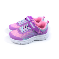 SKECHERS KIDS 運動鞋 紫/粉紅 魔鬼氈 童鞋 302430LPRMT no283