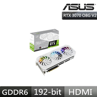 華碩ROG-RTX 3070-O8G-WHITE-V2 潮競白 顯示卡(鎖算力)+TUF H570-PRO WIFI主機板+外接燒錄機(黑)+FX 1T 電