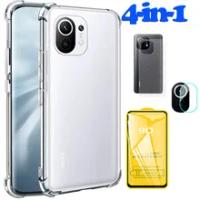 Mi 11 Lite Case Xiaomi 11 Lite 5G Shockproof Case mi11 Lite Clear Cover For Xiaomi mi11 Lite Silicone Case Xiaomi mi 11 Lite