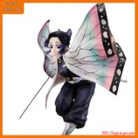 100% ต้นฉบับ: anime Demon Slayer Kochou Shinobu 19ซม.PVC Action Figure รูปของเล่นคอลเลกชันรูปตุ๊กตาของขวัญ