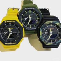卡西歐G-SHOCK農家橡樹時尚潮流運動錶GA-2100SU GA-2110SU-3A/9A RVnt