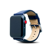 【Alto】Apple Watch 皮革錶帶 42/44mm - 海軍藍(真皮錶帶 Apple Watch 6/SE適用)