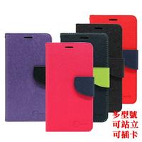 【愛瘋潮】99免運 現貨 皮套  LG G7+ ThinQ 經典書本雙色磁釦側翻可站立皮套 手機殼