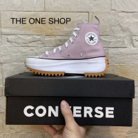 Converse Run Star Hike 粉色 粉紫色 淡粉 鋸齒 厚底 增高 171668C
