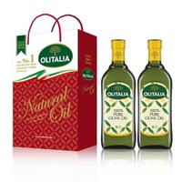 (老爹特惠)【奧利塔olitalia】純橄欖油1000ml (2瓶禮盒組) A230002x2