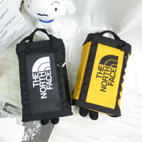 The North Face 北臉 雙肩後背包 背提包14L 大容量 A3KYV- 黑/黃【iSport愛運動】