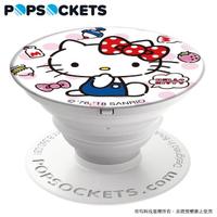 【PopSockets 泡泡騷】美國 No.1 時尚手機支架-Hello Kitty-午茶時光