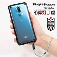 韓國Ringke原裝LG G7手機殼g7 thinq新款防摔保護套全包軟硅膠透明男女掛繩居家物語生活館