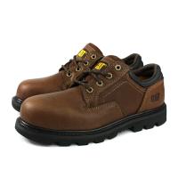 CAT RIDGEMONT 2.0 ST 休閒鞋 鋼頭鞋 真皮 咖啡色 男鞋 CA90975 no006