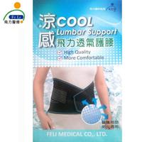 【Fe Li 飛力醫療】涼感透氣護腰帶