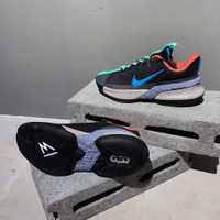 【滿千折$100】NIKE AMBASSADOR XIII 黑綠 男 包覆 籃球鞋 CQ9329004 【FEEL 9S】