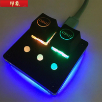 『免運現貨』1設置新的AmusingKeypad V3.1 osu!鍵盤可編程鍵盤CherryRGB-Swit