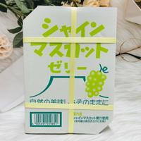 日本 AS 寶石果凍 麝香葡萄果凍 鮮果凍 BOX紙箱包裝