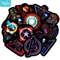 10/30PCS Disney Movie Hero สติกเกอร์ Marvel Avengers อะนิเมะกันน้ำกระเป๋าเดินทางแล็ปท็อปกีต้าร์สเก็ตบอร์ด Moto สติกเกอร...