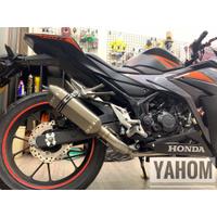 (YAHOM) HONDA CBR150R 全段直上排氣管 款式眾多自行挑選/台蠍/蠍子管/CB150R/CB650/R
