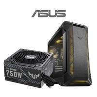 【ASUS華碩 機殼+750W電源】TUF Gaming GT501 Case 電腦機殼+TUF Gaming 750W 銅牌 電源供應器