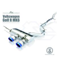 FI 高流量帶三元催化頭段 當派 排氣管 Volkswagen Golf R MK6 底盤【YGAUTO】