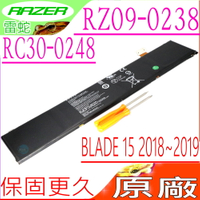 雷蛇 RC30-0248 電池(原廠)-Razer Blade 15 GTX 1070 電池,15 GTX 1060 電池,RTX 2070 Max-Q 電池,RZ09-03018,RZ09-03135,RZ09-03137,RZ09-03138