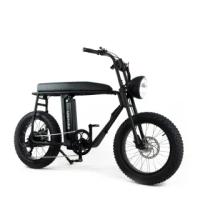 【SEic】復古UNI MOKE城市電動輔助自行車_經典消光黑(電輔車)