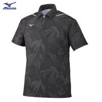 MIZUNO 男裝 短袖 POLO衫 世界大會 透氣 散熱 黑【運動世界】32MA052108
