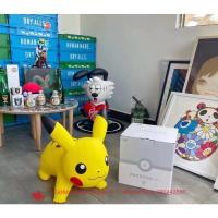 特惠下殺! Pokemon Air Pikachu 皮卡丘跳跳馬限定款 超級可愛超級萌 可做家居擺件 沙發凳 靠禮物現
