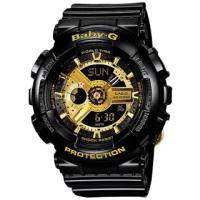【CASIO 卡西歐】BABY-G 街頭潮流雙顯錶(BA-110-1A)
