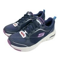 (BZ) SKECHERS 女鞋 ARCH FIT 運動鞋 足弓支撐 足底筋膜炎舒緩 149413NVPR藍紫【陽光樂活】