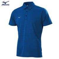 Slim FIT 男款短袖POLO衫 32TA052816(深藍)【美津濃MIZUNO】