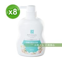 台鹽 蓓舒美海鹽抗菌洗手露(500ml/瓶)x8瓶