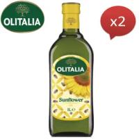 【Olitalia奧利塔】葵花油(1000mlx2瓶)