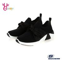 Skechers運動鞋 女鞋 A-LINE 大蝴蝶結休閒鞋 女運動鞋 記憶鞋墊 柔軟 T8297#黑色 奧森