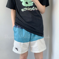 Nike Sportswear City Edition 白藍  拼接 男生短褲