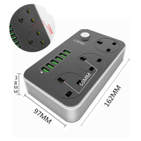 插頭轉換器 插座 插板 延長線 LDNIO香港版英規USB插排英式插板英標拖線板歐規美標多功萬能插座