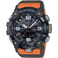 【CASIO 卡西歐】G-SHOCK MUDMASTER藍芽連線雙顯手錶(GG-B100-1A9)