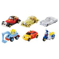 TOMICA 多美小汽車 迪士尼小汽車10周年 抽抽樂系列 中盒6入 【鯊玩具Toy Shark】