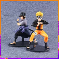 Naruto Figure Anime Uchiha Sasuke Uzumaki Naruto PVC Ation Shippuden Vibration Stars Figurine Model Toy Birthday Gift