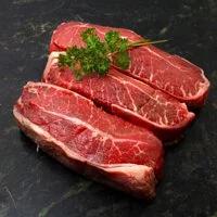 【大江生鮮】美國CHOICE級特選板腱牛排 100g/片(10組)美國黑牛/燒肉片/帶骨牛小排/沙朗/霜降/COSTCO