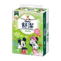 【舒潔】櫻花版棉柔舒適迪士尼抽取衛生紙 100抽x16包x4串/箱