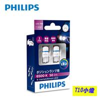PHILIPS飛利浦LED EXTREME ULTINON超晶亮系列T10小燈6500K