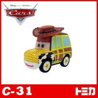 【Fun心玩】C-31 DS83501 麗嬰 全新盒裝 TOMICA 日本 多美小汽車 CARS 汽車總動員 胡迪