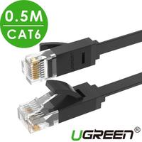 【綠聯】0.5M CAT6網路線 GLAN FLAT版