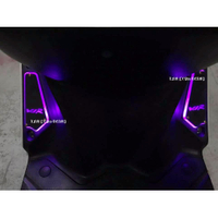 【LFM】VJR125 導光 前後 腳踏板 VJR125 LED 踏板 光導式 3D 導光踏板 發光